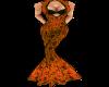 Orange ChinaDoll Gown