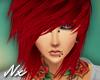 |Nx| Emo Red Hair