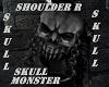 MONSTERSKULL Shoulder R
