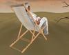 Simple deck chair