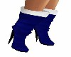 BLUE X-MAS BOOTS