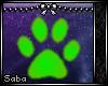 (: PawPrint .:Green:.