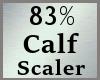 83% Calf Calves Scale MA