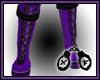 Pony Boots Purple M