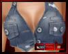 !C! Jean Short Vest