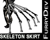 SKELETON SKIRT