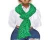 BrightGreenScarf