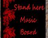 (A)BlkNRed music board