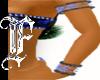 *F B Tribal Bling Cuffs