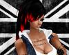 Black/Red Rihanna