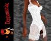 Picot Jacket Dress WHITE