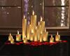 Heart Floor Candles