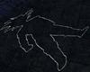 Goku Chalk Outline