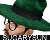 /su/ KNLO GREEN BRIM HAT