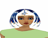 Blue Claw hair