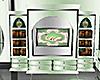 Mint green swan radio