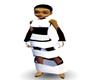 MJ Black & White dress