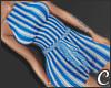 !© Striped Blue
