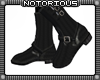 BRoZ Black Leather Boots