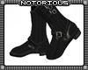 BRoZ Black Leather Boots