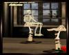 Halloween Skeleton Chair