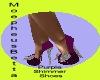 Purple Shimmer Shoe