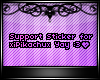 {Pika) 2K SupportSticker