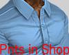 Smart Tight Shirt Lblue