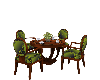 GREEN ANIMATED TABLED