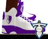 Wht/Pur KD Shoez