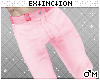 #jeans: pink