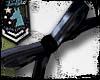 Ribbon Wristlet BLACK