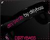 !B Blk Pink Headphones