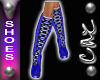 |CAZ| Xmas Boots Blue