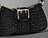 Mona Shoulder Bag  Black