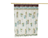 Country Bath Curtain