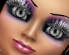 !     Silver Long Lashes