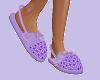 Purple OBG Slippers