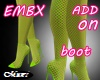 EMBX FISHNET LEMON BIMBO
