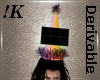!K!Party Hat Male- Large