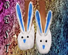 Bunny Slippers Blue