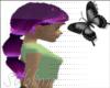 purple long hair