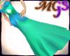 MG Elegant blue dress