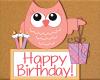 Kids Birthday Owls 4