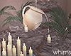 Snowfall Fountain Candle