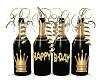 Bottle Birthday 3d
