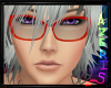 Red Nerd Reiji Glasses