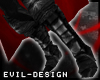 #Evil Black Shadow Boots