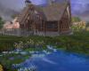 beautiful lake cabin