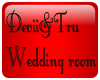 Devil&tru wedding room